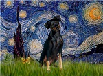 STARRY NIGHT<br>& Miniature Pinscher