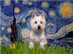 STARRY NIGHT<br>& West Highland Terrier