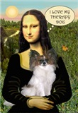 MONA LISA & HER<br>PAPILLON THERAPY DOG (F)