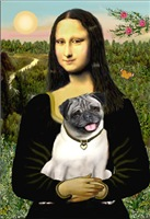 MONA LISA<br>(With Pug #18)