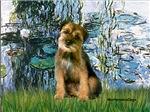 LILIES 1<br> &  Border Terrier