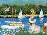 SAILBOATS<br>& Fawn French Bulldog