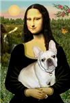 MONA LISA<br>& Fawn French Bulldog