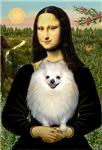 MONA LISA<br>&  Pomeranian (white)
