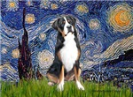 STARRY NIGHT<br>Greater Swiss Mountain Dog