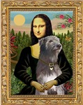 MONA LISA<br>& Irish Wolfhound