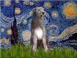STARRY NIGHT<br>& Irish Wolfhound