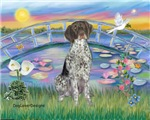 LILIES<br> & German Short Haired Pointer