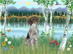 BIRCHES<br> & German Short Haired Pointer