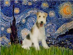 STARRY NIGHT<br>& Wire Fox Terrier