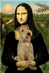 MONA LISA<br> & Lakeland Terrier