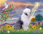 CLOUD ANGEL<br>& Old English Sheepdog