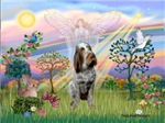 CLOUD ANGEL #2 <br> & Italian Spinone
