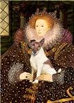 QUEEN ELIZABETH I<br>& Smooth Fox Terrier