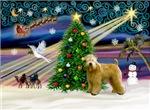 CHRISTMAS MAGIC<br> & Wheaten Terrier #2