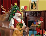 SANTA AT HOME<br>& Shar Pei