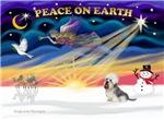 CHRISTMAS SUNRISE<br>& Dandi Dinmont