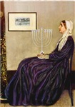 WHISTLER'S MOTHER<br>WIth a Menorah