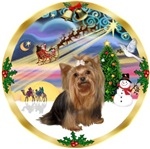 CHRISTMAS MAGIC<br>& Yorkshire Terrier     