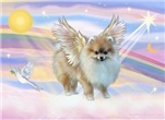 ANGEL IN THE CLOUDS<br>& Pomeranian  #10