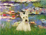 WATER LILIES<br>& Scottish Terrier