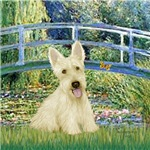 LILY POND BRIDGE<br>& Scottish Terrier