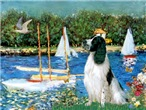 SAILBOATS<br>& English Springer Spaniel (BW)