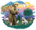 St. Francis #2 &<br>English Bulldog (W #1)