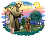 St. Francis #2 &<br>Airedale (look up)