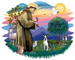 St. Francis #2 &<br> Boston Terrier #1
