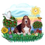 HAPPY DAY<br>Basset Hound
