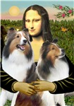 MONA LISA<br>& Two Shetland Sheepdogs