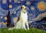 STARRY NIGHT<br>& Borzoi