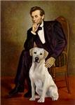 ABRAHAM LINCOLN &<br>Yellow Labrador