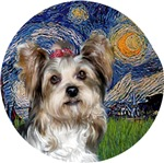 Yorkshire Terrier (Briewer)<br>Starry Night
