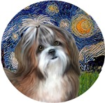 Shih Tzu #8<br>Starry Night