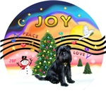 CHRISTMAS MUSIC #2<br>Black Brussels Griffon