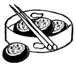 Chinese designs on maternity shirts