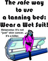 The Only Safe Tanning Bed
