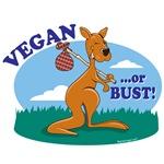 Vegan or Bust T-shirts, Sweats, Gifts
