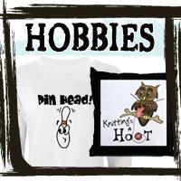 Knitting Tshirts Bowling Tshirts, Hobby Tees