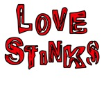 Love Stinks Tshirts & Anti Valentines Gifts