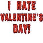 I Hate Valentine's Day T-shirts