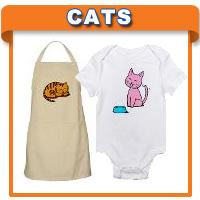 Cat T-shirts & Gifts for Cat Lovers