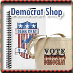 Democrat T-shirts, Buttons & Gear