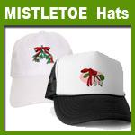 mistletoe hats