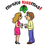 Merry Kissmas T-shirts and Gifts