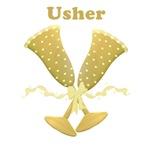 Golden Usher T-shirts, Gifts, Keepsakes