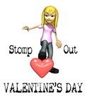 Stomp Out Valentine's DAy T-shirts