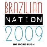Anti-Bush T-shirts, Brazilian Nation Tshirts